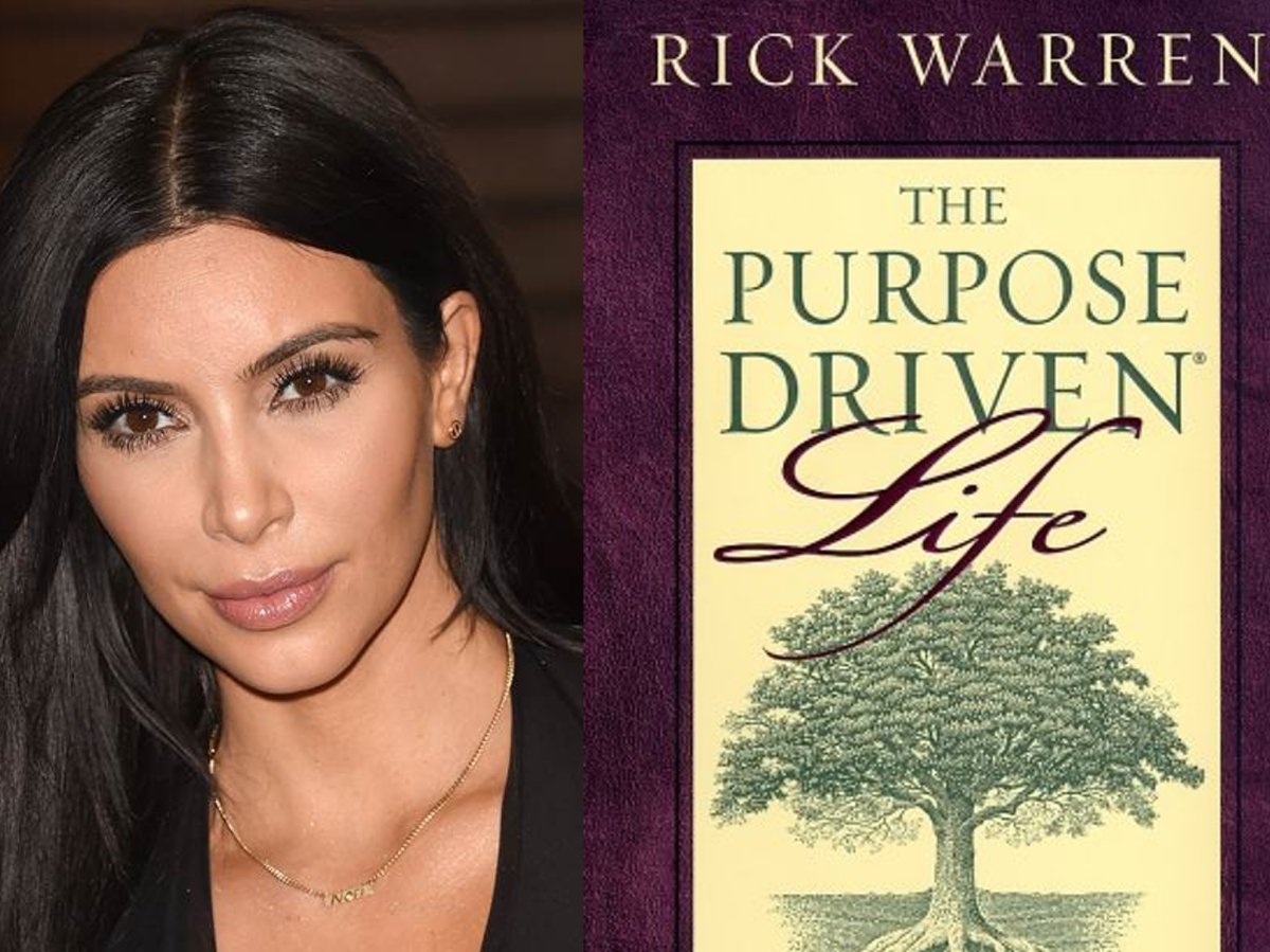 Relevant Mag: Kim Kardashian is a Purpose Driven Life Fan-girl!